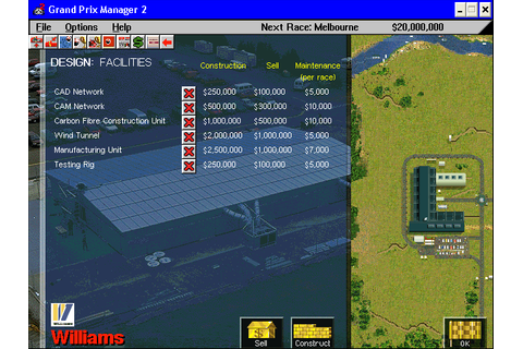 Download Grand Prix Manager 2 (Windows) - My Abandonware