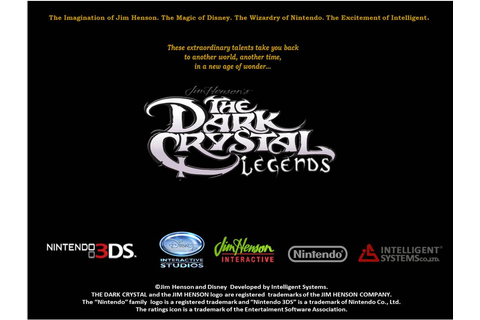 The Dark Crystal Legends (video game) by DarkOverlord1296 ...