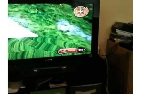 Glitch on Gallop and Ride- Wii - YouTube