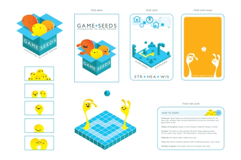 Game Seeds card game. | Lizzywanders.