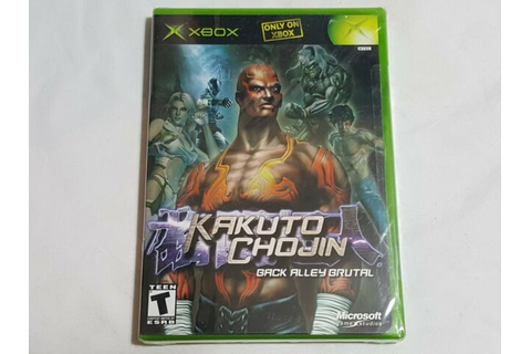 NEW (Read) Kakuto Chojin Back Alley Brutal XBox Game ...