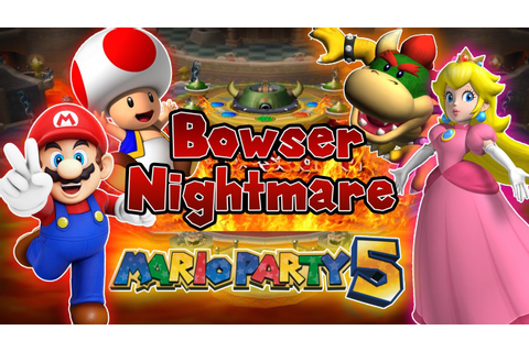 ABM: Mario Party 5 Gameplay!! Bowser Nightmare!! HD - YouTube