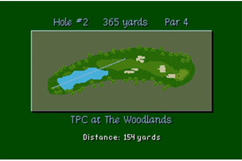 PGA Tour Golf III Review for Genesis (1994) - Defunct Games