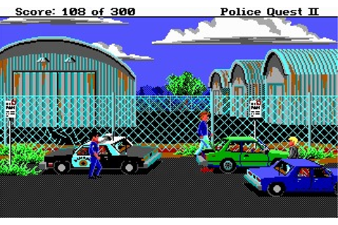Police Quest II: The Vengeance Screenshots
