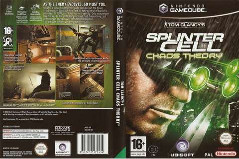 GCJP41 - Tom Clancy's Splinter Cell: Chaos Theory