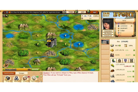 10 Games Like Evony Popular Strategy Mmos | Party ...