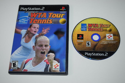 WTA Tour Tennis Playstation 2 PS2 Game Disc w/ Case ...