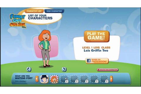 Family Guy Online- How to make a Lois Griffin (look-alike ...