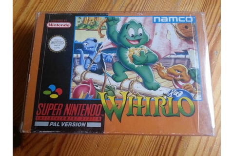 SNES Whirlo Complete CIB Very Nice Condition & Rare Super ...