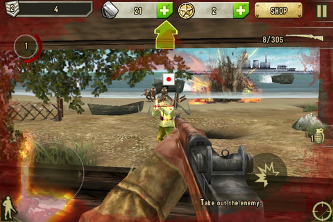 Brothers in Arms 2: Global Front for iPhone - Download