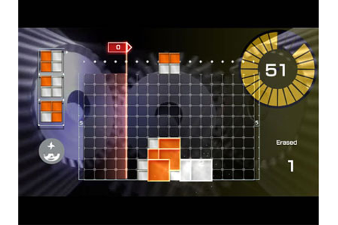 Lumines Live! Review for Xbox 360 (2006) - Defunct Games