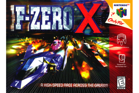 Nintendo 64 games f zero x with emulator : inatcoo