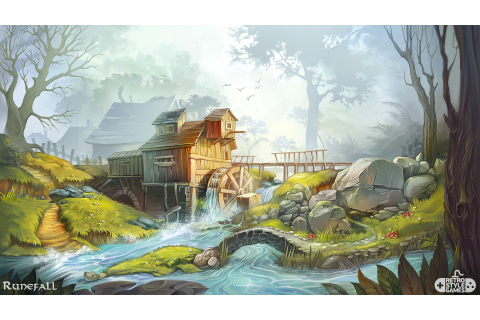 RetroStyle Games - Runefall - Match-3 Game Backgrounds