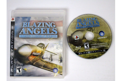 Blazing Angels Squadrons of WWII game for Playstation 3 ...