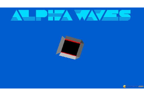 Alpha Waves gameplay (PC Game, 1990) - YouTube
