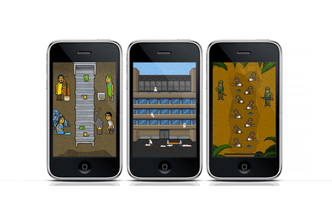 Phone Story. Un mobile game discute la mobile phone ...
