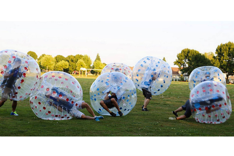 Bubble Ball Is A Game You Can Play In Vancouver (PHOTOS ...