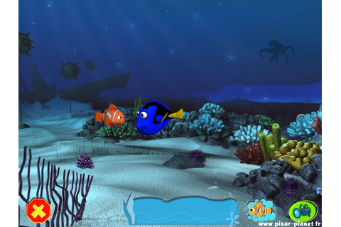 "The ""Finding Nemo"" video game. 