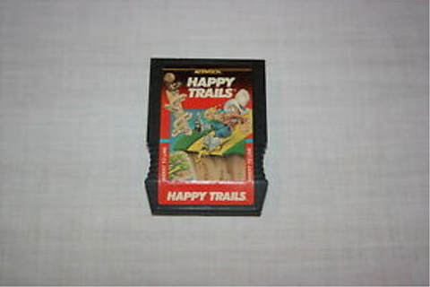 Intellivision Happy Trails Game Cartridge by Activision ...