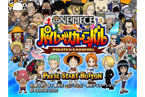 One Piece Pirates Carnival ISO (PS2) | Mienaga Blog ...