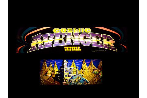 Cosmic Avenger | Marquee for Cosmic Avenger video game ...