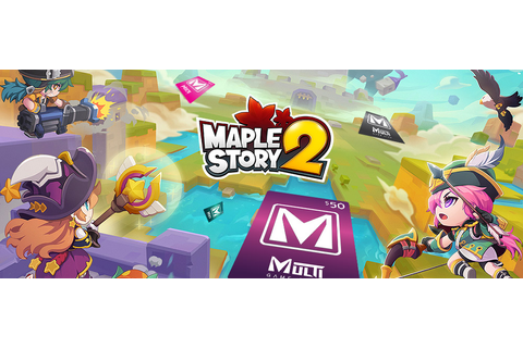 Get your MapleStory 2 founders packs via Multi Game Card ...