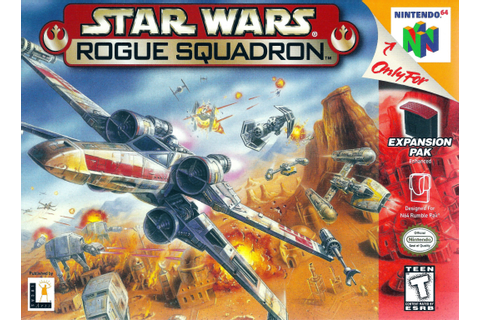 Star Wars Rogue Squadron Classic Nintendo 64 Game On Sale Now