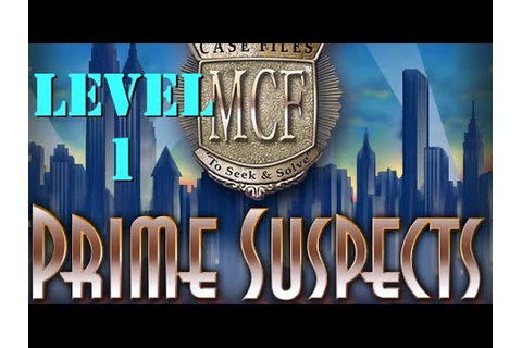 Mystery Case Files Prime Suspects: Level 1 (Constance ...