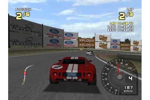 Ford Racing 2 - Unlocking the Ford GT - YouTube