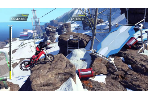 Trials Fusion Skill Games Gameplay Ps4 - YouTube