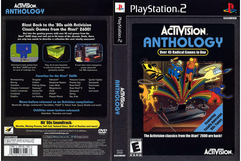 Activision Anthology – PS2 | NTSC « Viciados Toda Hora