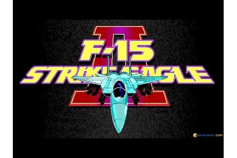 F-15 Strike Eagle II gameplay (PC Game, 1989) - YouTube