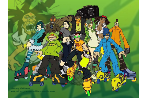 In terms of good, diverse games, I think Jet Set Radio is ...