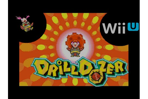Drill Dozer : game footage Wii U edition - YouTube
