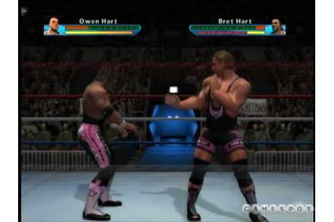 Showdown: Legends of Wrestling Hart vs Hart gameplay - YouTube