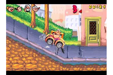 Popeye: Rush for Spinach (GBA) Walkthrough Part 1 - YouTube