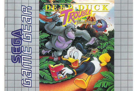 Deep Duck Trouble (Starring Donald Duck) / Donald Duck no ...