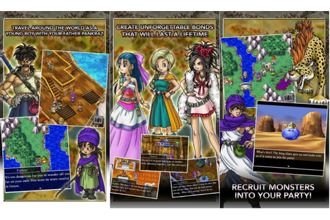 Dragon Quest V comes to the Google Play Store
