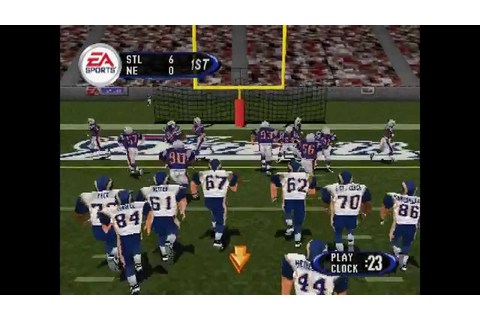 Madden NFL 2003 ... (PS1) - YouTube
