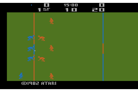 AtariAge - Atari 2600 Screenshots - RealSports Football ...