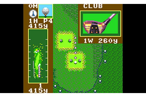 Play Fred Couples' Golf (USA) • Game Gear GamePhD