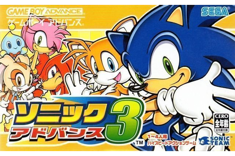 Sonic Advance 3 (Cezar) ROM - Gameboy Advance (GBA ...