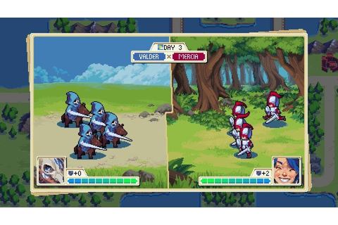 WarGroove (Switch eShop) Screenshots