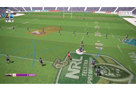 Rugby League Live 4 HD Gameplay + Impressions - YouTube