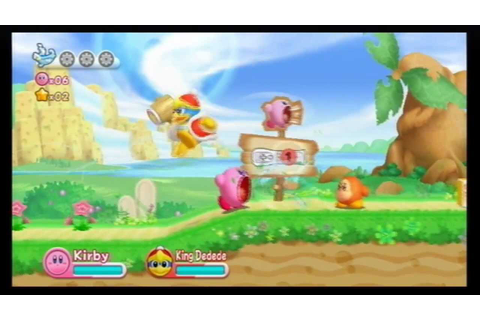 Kirby's Adventure Wii ITA #1 - In aiuto dell'alieno! - YouTube