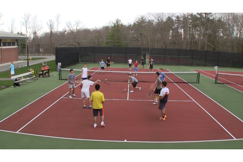 Tennis Game for Large Groups - All Touch Volleyball Tennis ...