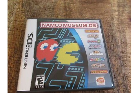 Namco Museum DS (Nintendo DS, 2007) Video Game Complete ...