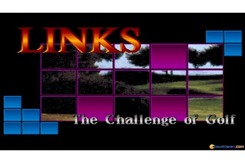 Links: The Challenge of Golf gameplay (PC Game, 1990 ...
