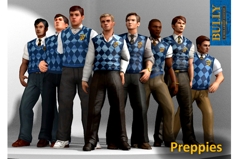 Preppies Clique (Bully) XPS Models by the-architect-x on ...