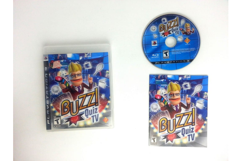 Buzz! Quiz TV game for Playstation 3 (Complete) | The Game Guy